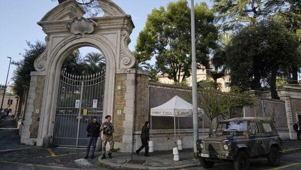 Посольство Ватикана. Архивное фото