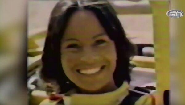 Скриншот видео об американской каскадерше Китти О'Нил