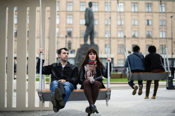 Триумфальную площадь открыли после реконструкции в Москве