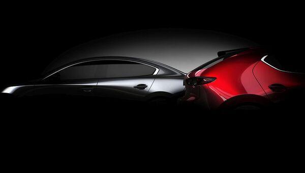 Первое изображение следующего поколения Mazda3