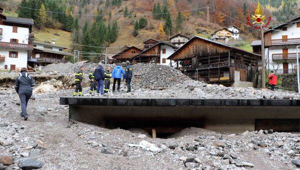 Последствия плохой погоды в регионе Венето, Италия. 4 ноября 2018