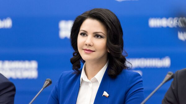 Депутат Государственной Думы  Инга Юмашева