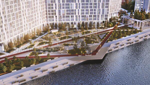 Проект общественного пространства на Васильевском острове