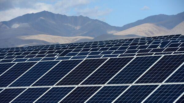 Кош-Агачская солнечная электростанция в Республике Алтай