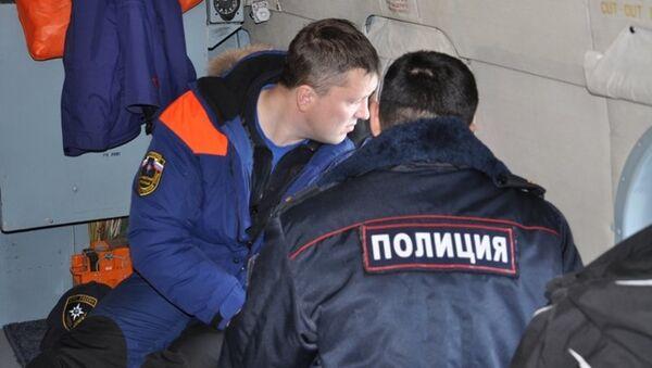Поисково-спасательная операция в районе крушения судна Анатолий Крашенинников