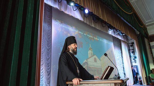 Ректор Московской духовной академии архиепископ Верейский Амвросий