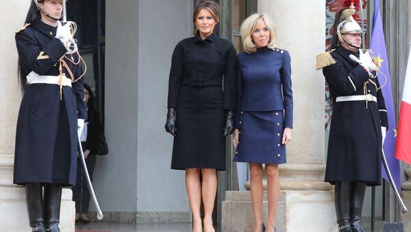 Первые леди США и Франции