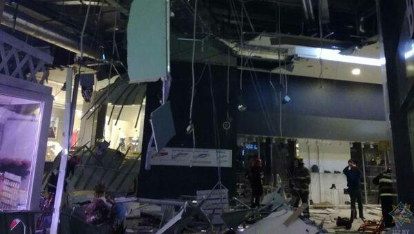 Обрушение потолочного перекрытия в ТЦ Арена-сити, Минск. 12 ноября 2018