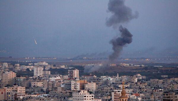 Авиаудар израильских ВВС по сектору Газа