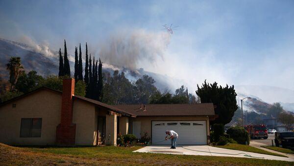 Пожар в штате Калифорния. 12 ноября 2018