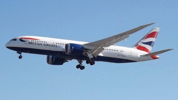 Самолет Boeing 787 авиакомпании British Airways