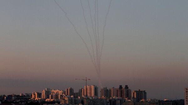 Ракеты израильской системы ПРО Железный купол