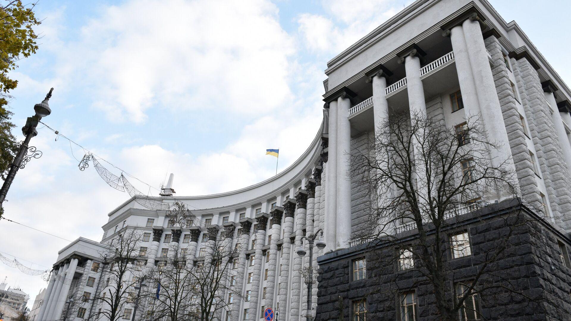 Здание правительства Украины в Киеве - РИА Новости, 1920, 05.08.2021