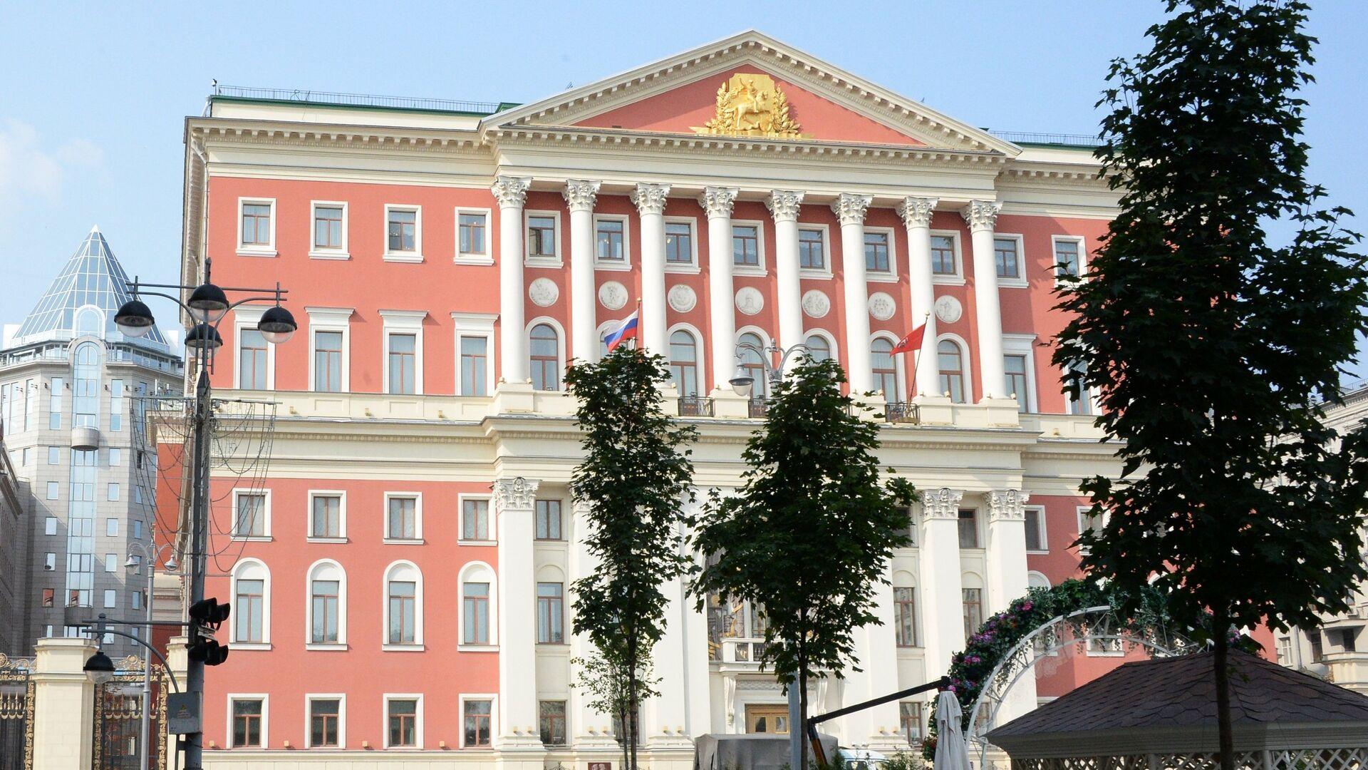 Здание мэрии на Тверской улице в Москве - РИА Новости, 1920, 13.10.2020