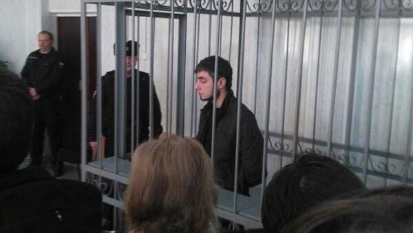 Дмитрий Грачев в городском суде Серпухова