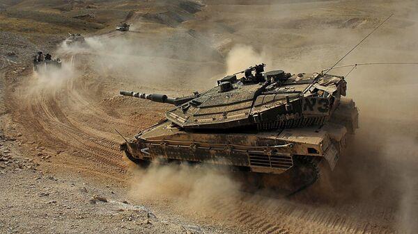 Танк сухопутных войск вооруженных сил Израиля