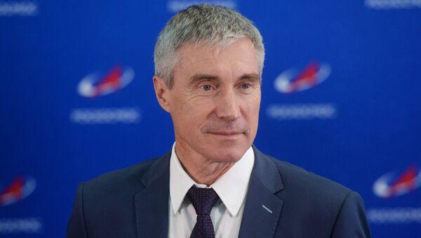 Исполнительный директор по пилотируемым космическим программам госкорпорации Роскосмос Сергей Крикалев