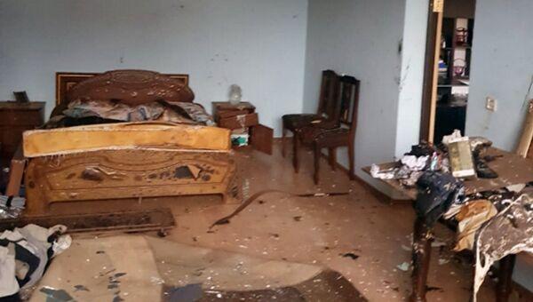Последствия взрыва бытового газа в селении Заюково Кабардино-Балкарии. 16 ноября 2018