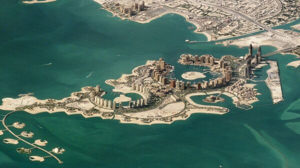 Искусственный остров Перл-Катар в Дохе