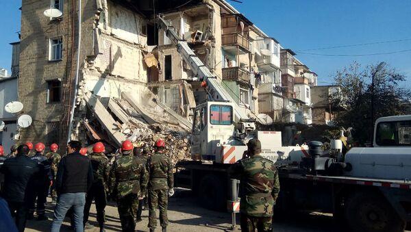 Взрыв в жилом доме в Гяндже, Азербайджан. 20 ноября 2018