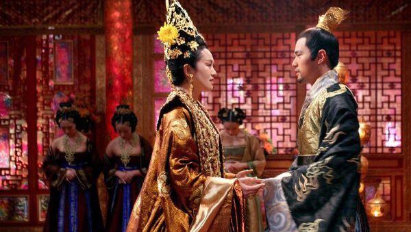 Кадр из фильма Проклятие золотого цветка
