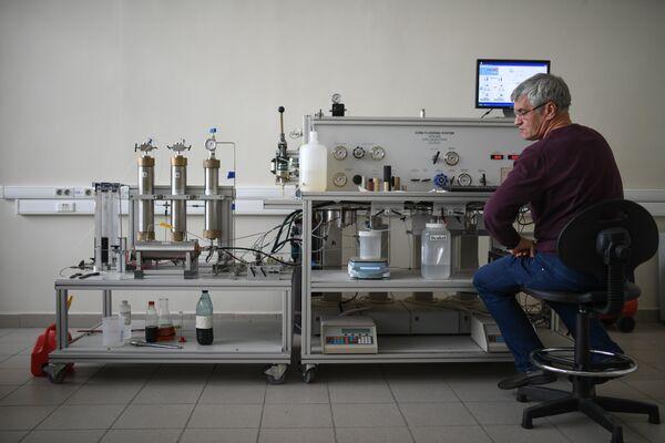 Исследования процесса фильтрации нефти