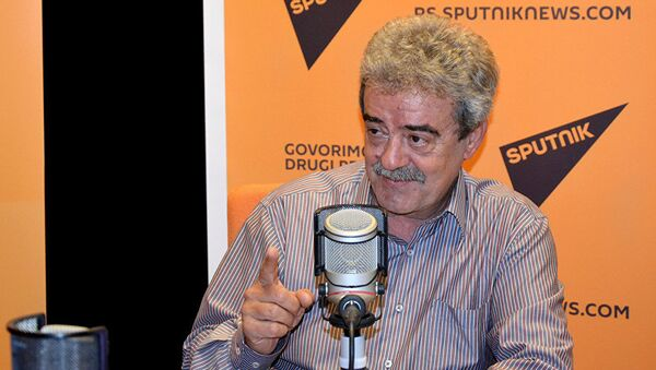 Экс-президент Черногории и бывший председатель правительства Союзной республики Югославии Момир Булатович. Архивное фото