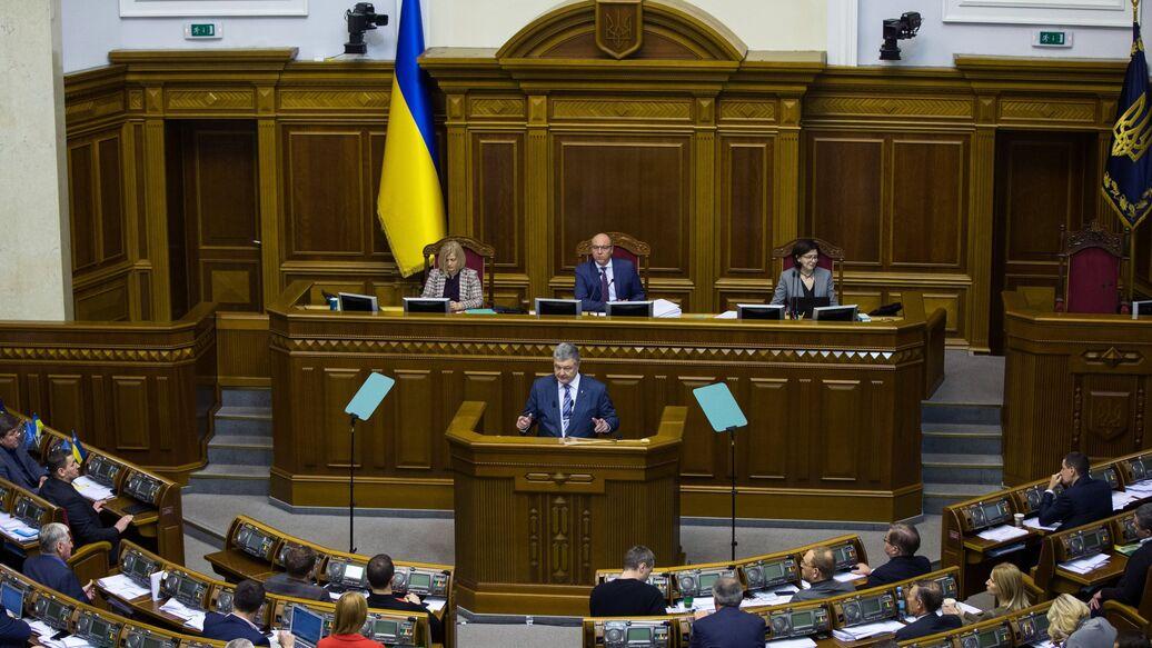 В Раде просят Порошенко объявить войну России