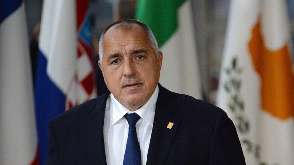 Премьер-министр Болгарии Бойко Борисов на внеочередном саммите ЕС по брекзиту в Брюсселе. 25 ноября 2018
