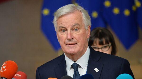 Глава делегации ЕС на переговорах по Брекзиту Мишель Барнье