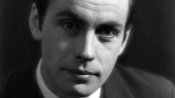 Юрий Петрович Ковеленов, диктор Центрального телевидения СССР. Архивное фото