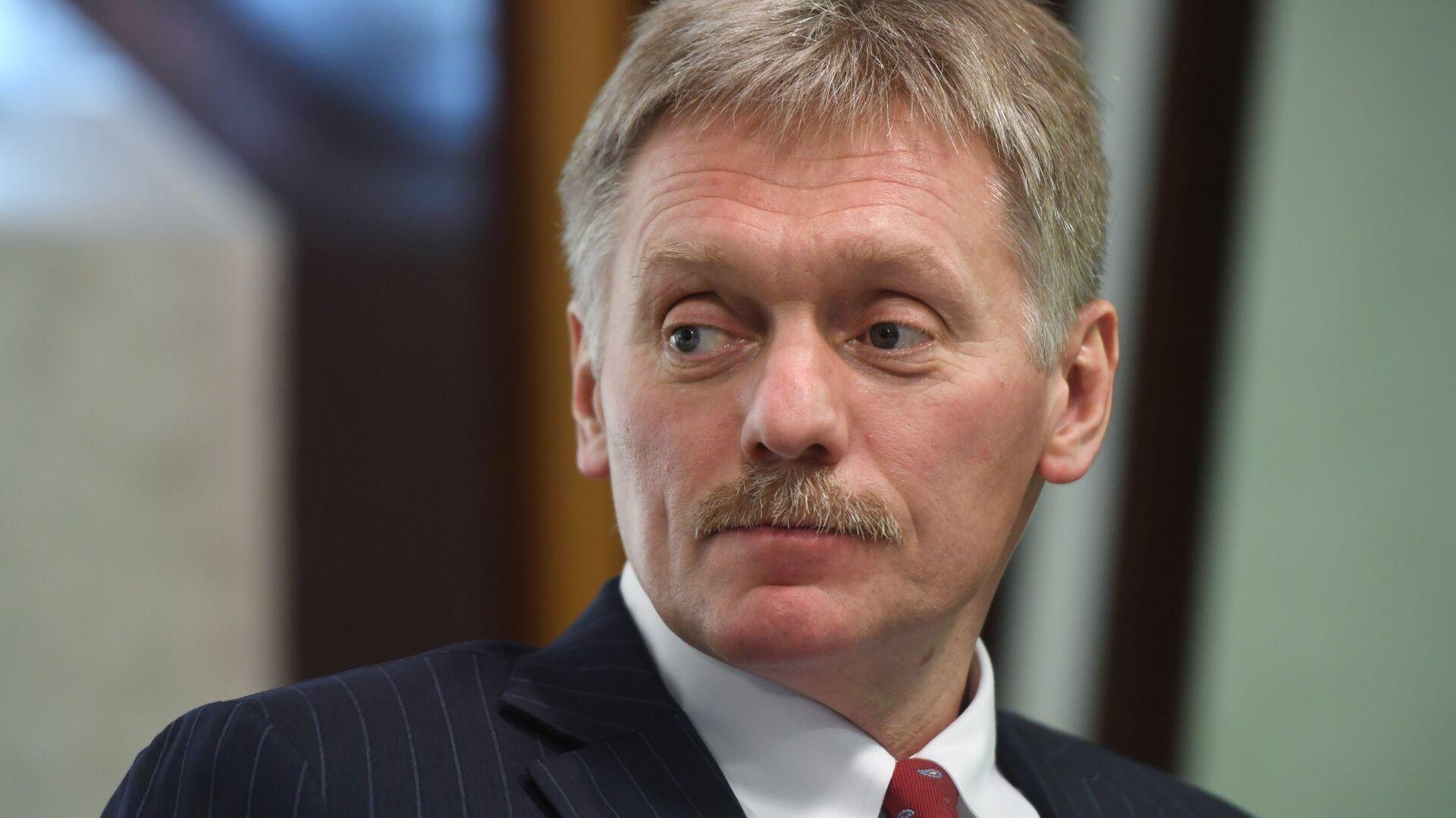 """Песков заявил о готовности попасть под санкции """"в любой момент"""""""
