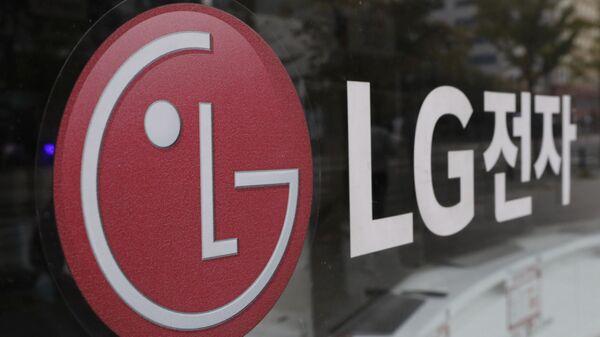 Логотип компании LG Electronics в Сеуле, Южная Корея