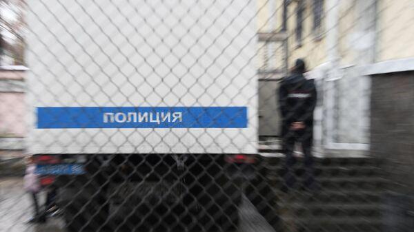 Полицейский автозак