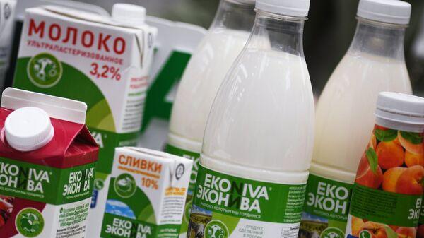 Молочная продукция российского производства