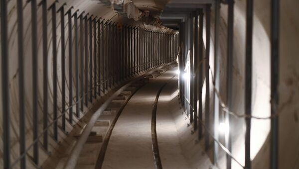 Тоннель кабельного коллектора Пресня в Москве