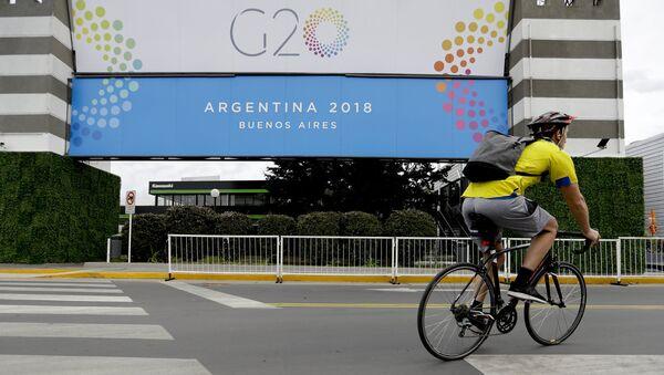 Буэнос-Айрес в преддверии саммита G20. Архивное фото