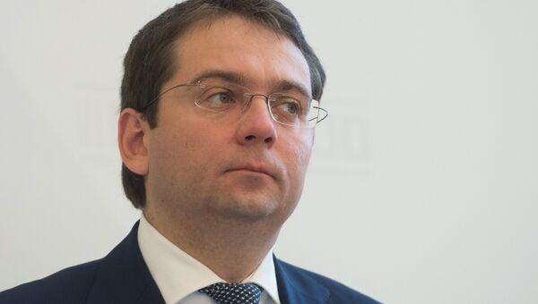 Заместитель главы Минстроя России Андрей Чибис