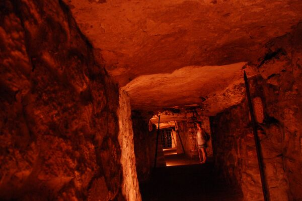 Лабиринт в подземелье замка Буда