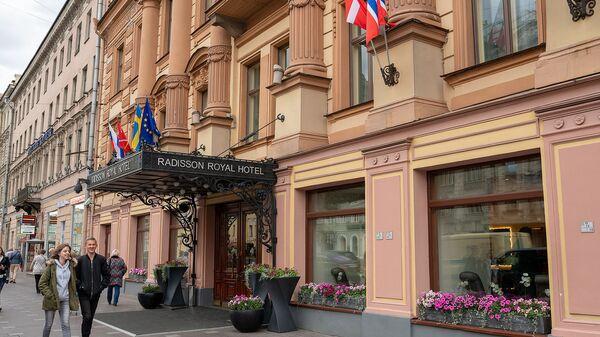 Отель на Невском проспекте в Санкт-Петербурге