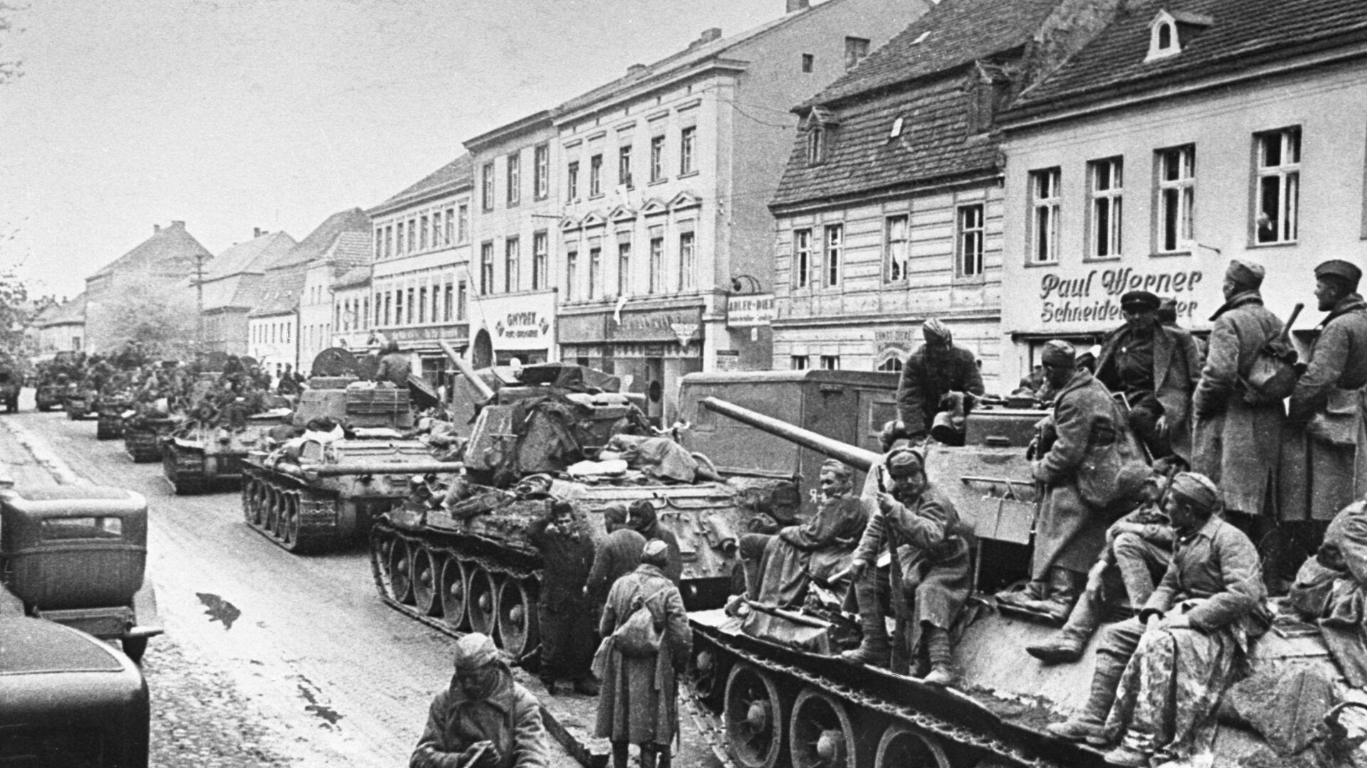 Наступление советских войск в Германии - РИА Новости, 1920, 16.04.2020