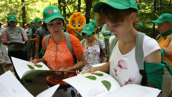 Бесплатная детская школа экскурсоводов-экологов откроется в Москве