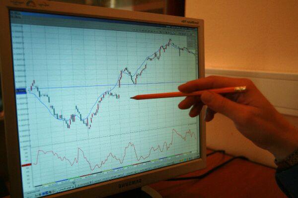 График роста фондового рынка