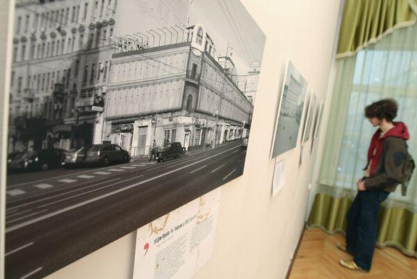 Выставка - акция Сносить нельзя реставрировать открылась в Москве