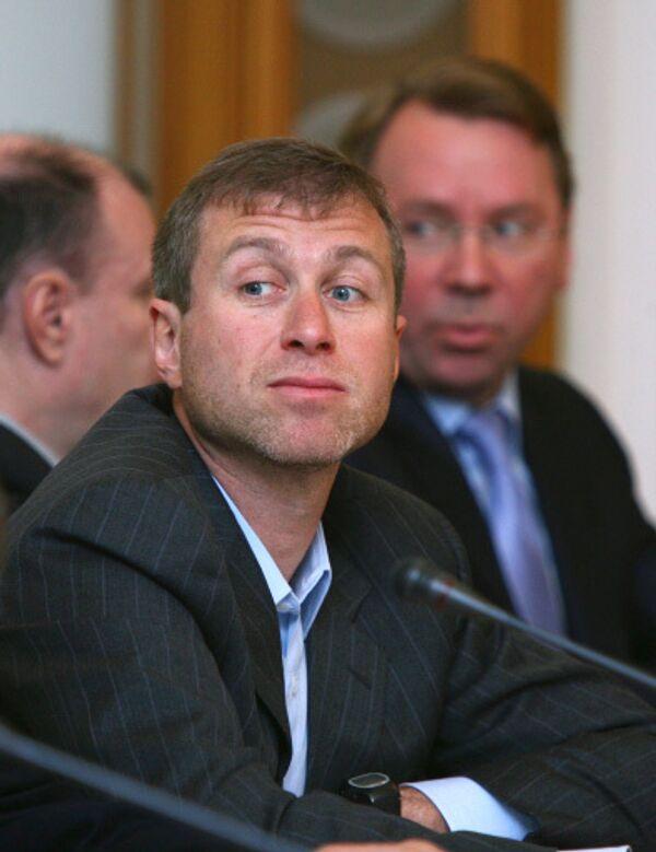 Губернатор Чукотского автономного округа Роман Абрамович