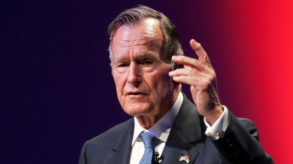 Бывший президент США Джордж Герберт Уокер Буш