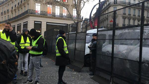 Протесты в Франции