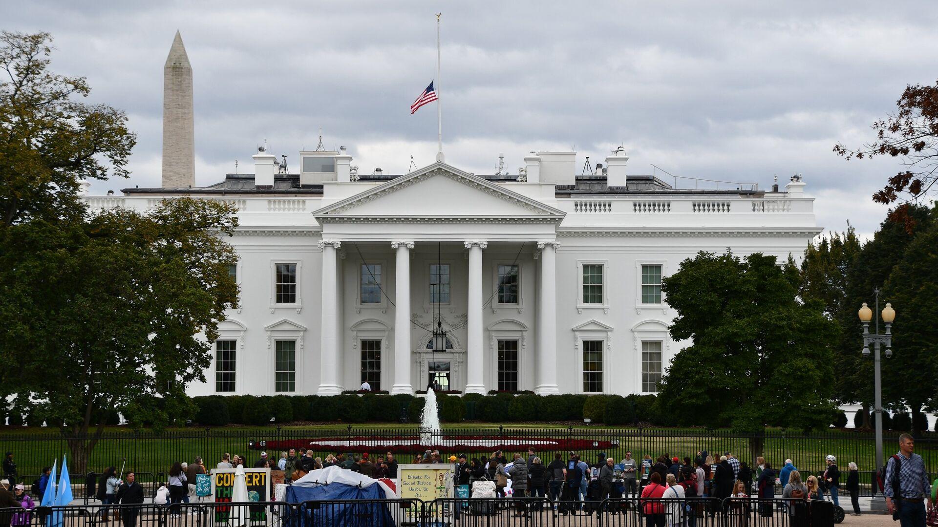 Белый дом в Вашингтоне, официальная резиденция президента США - РИА Новости, 1920, 21.02.2021