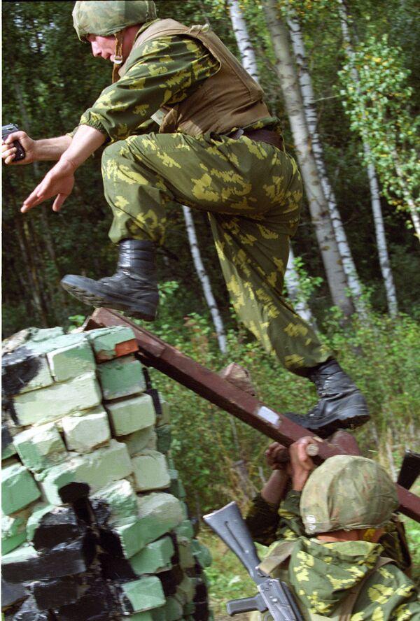Международные соревнования подразделений спецназа и разведки