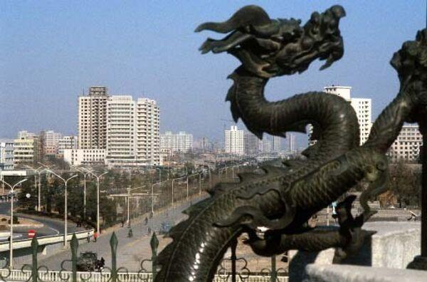 Панорама Пекина. Архив